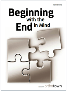 Beginning with the End in Mind Journal Cover